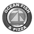Ocean Fish & Chips And Ocean Pizza Logo