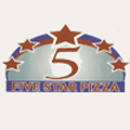 5 Star Pizza Logo